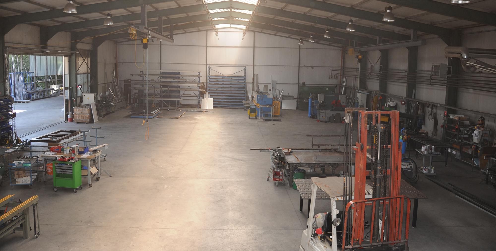 Obstmayer Metallbau - Produktionshalle